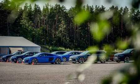 Audi RS izaicina saciksu trasi Lietuva 3