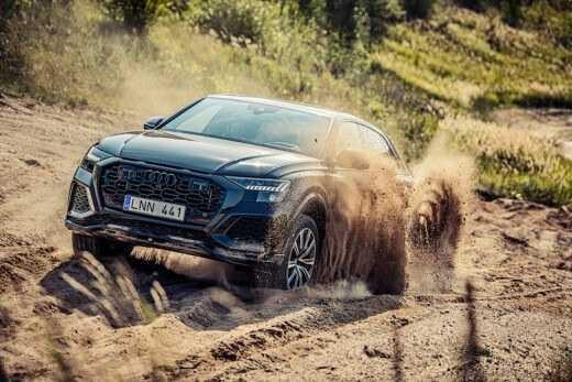 Audi RS izaicina saciksu trasi Lietuva 5
