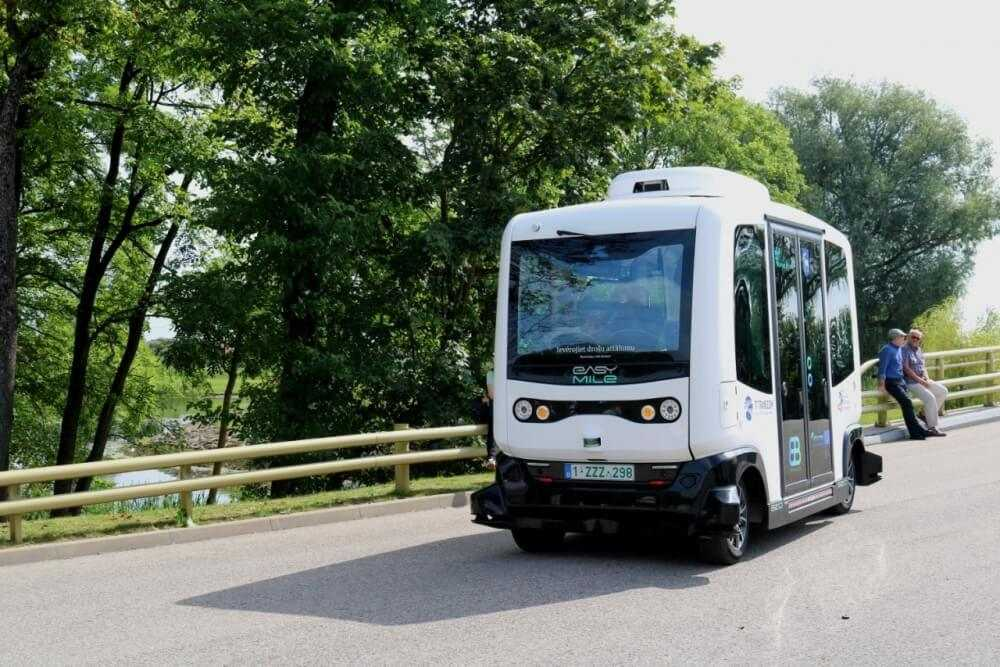 Autonomais autobuss kursēs Aizkrauklē
