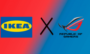 ASUS Republic of Gamers un IKEA