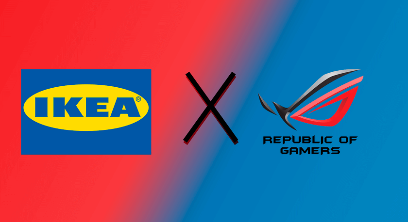 ASUS Republic of Gamers un IKEA