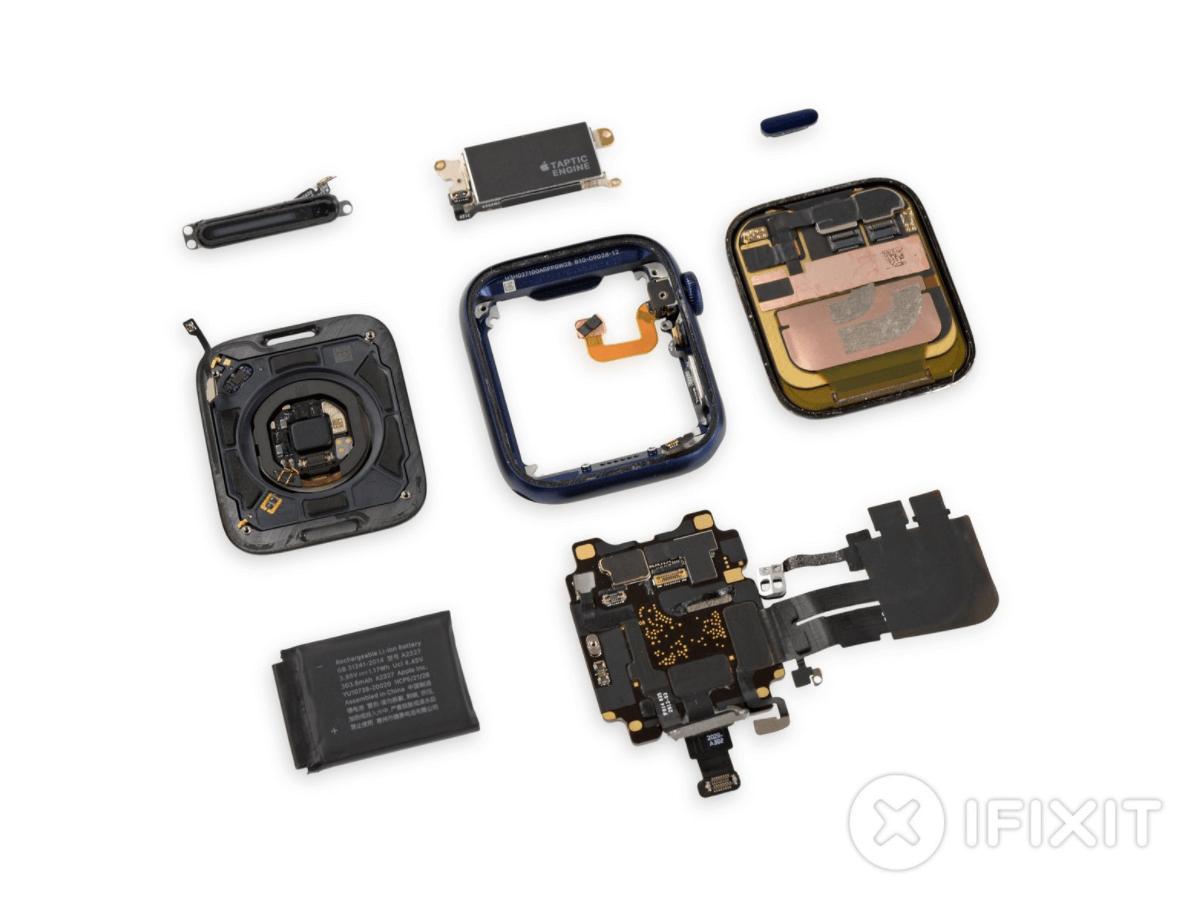 Izjaukt Apple Watch Series 6 foto 5