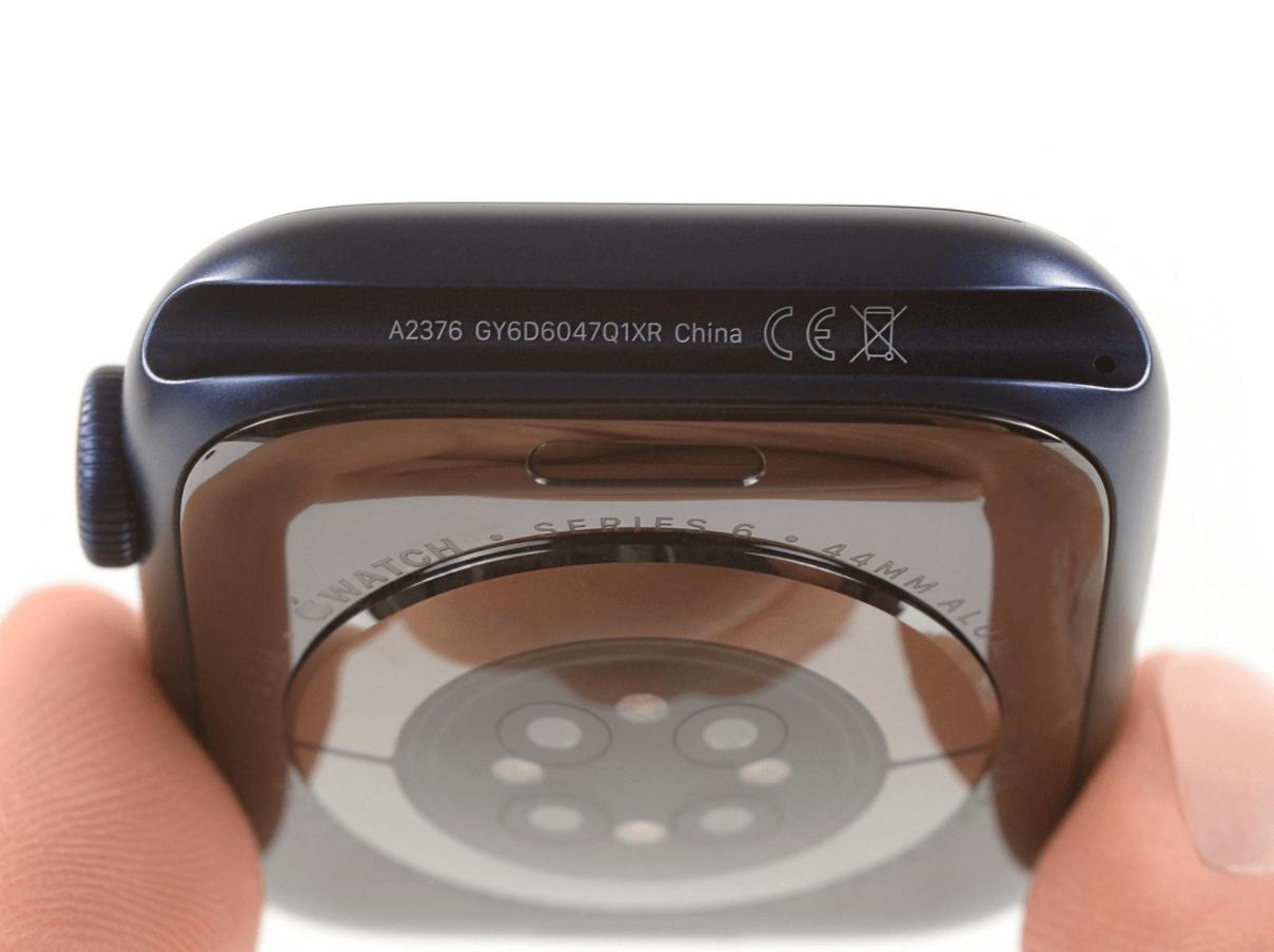 Izjaukt Apple Watch Series 6