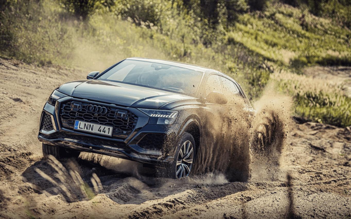 Jaunākie Audi RS modeļi izaicina sacīkšu trasi Lietuvā