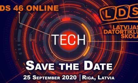 Notiks viena no lielākajām nozaru konferencēm Latvijā - Latvijas Datortīklu Skola 2020