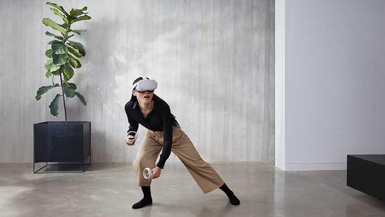 Oculus Quest 2 Realitātes brilles