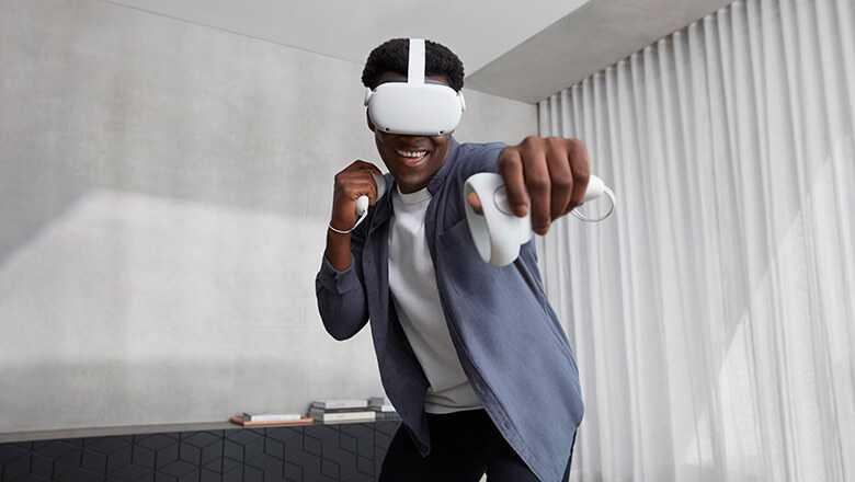 Oculus Quest 2 reālas brilles