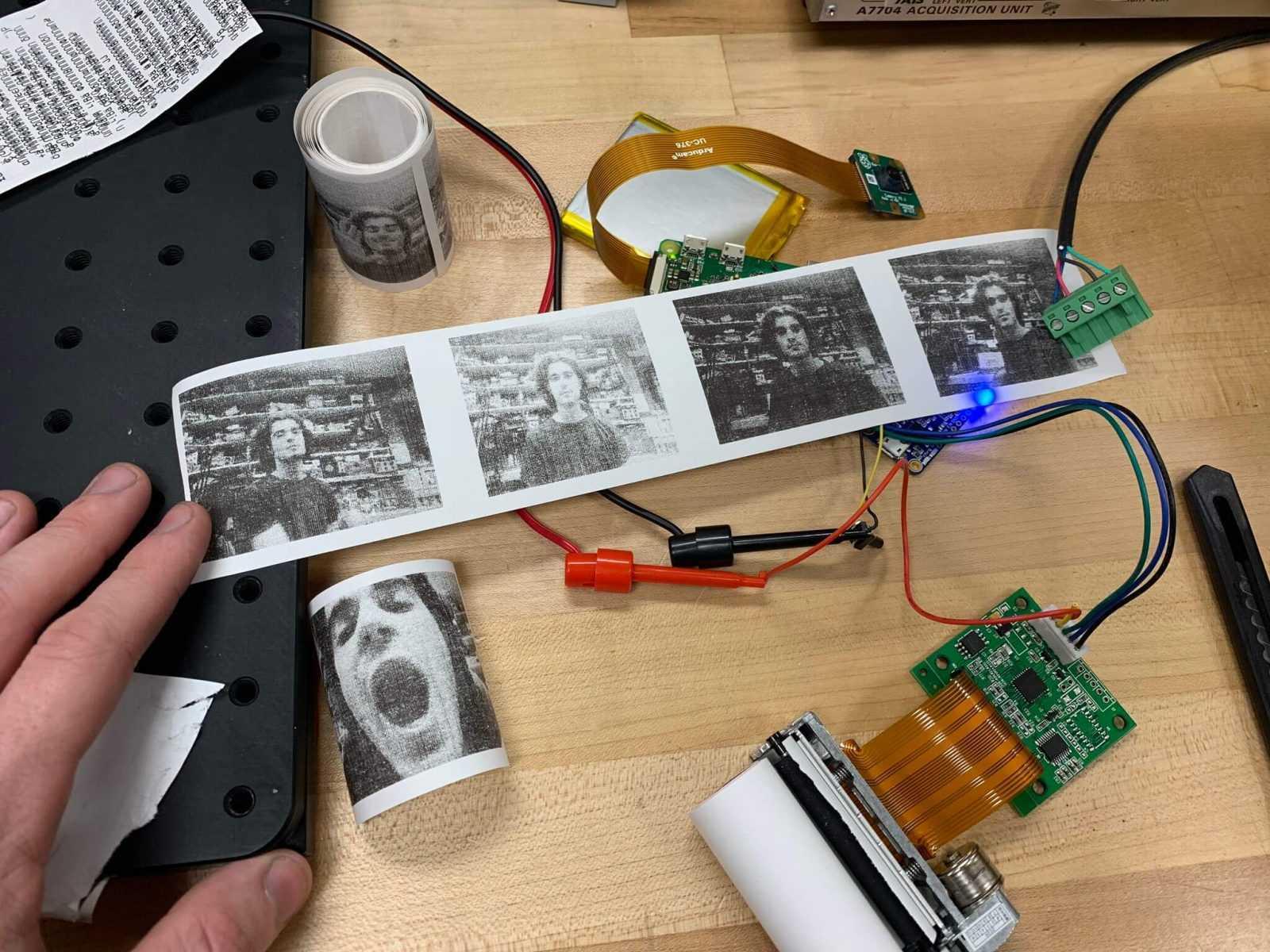 Receipt printer Polaroid camera 2 (1)