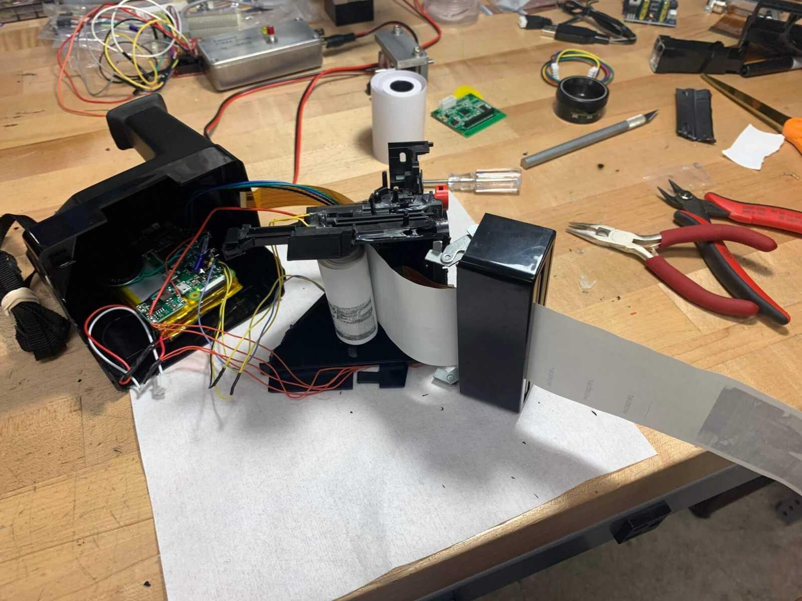 Receipt printer Polaroid camera 4 (1)