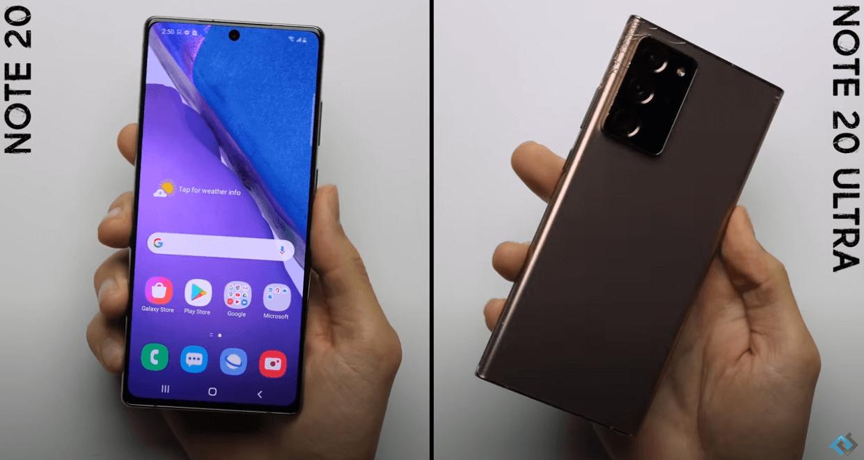 Samsung Galaxy Note 20 pret Galaxy Note 20 Ultra