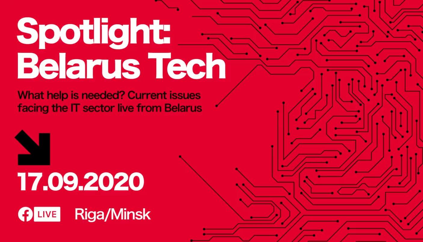 Pasākums Spotlight: Belarus Tech dos vārdu Baltkrievijas tehnoloģiju līderiem