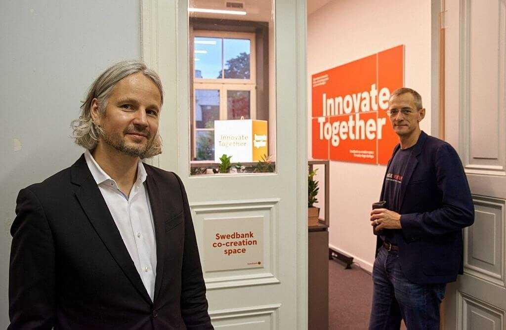"TechHub Riga Startup House"" atklāta otrā ""Swedbank"" coworking telpa"