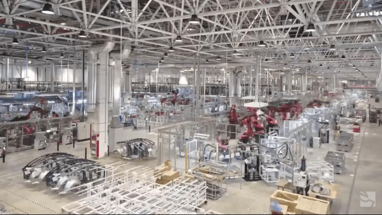 Tesla rupnica Kina