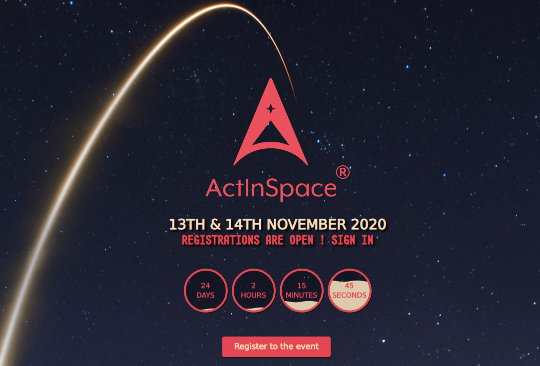 Act In Space 2020