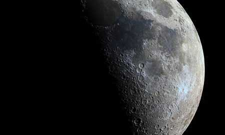 Pirmie augi uz mēness