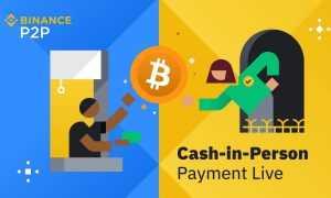 Binance aktivizējusi jaunu pakalpojumu - kriptovalūtu maiņu pret skaidru naudu