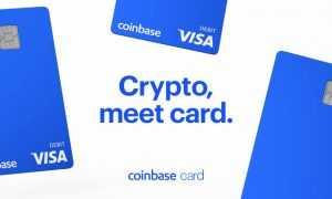 Coinbase Visa maksājumu karte