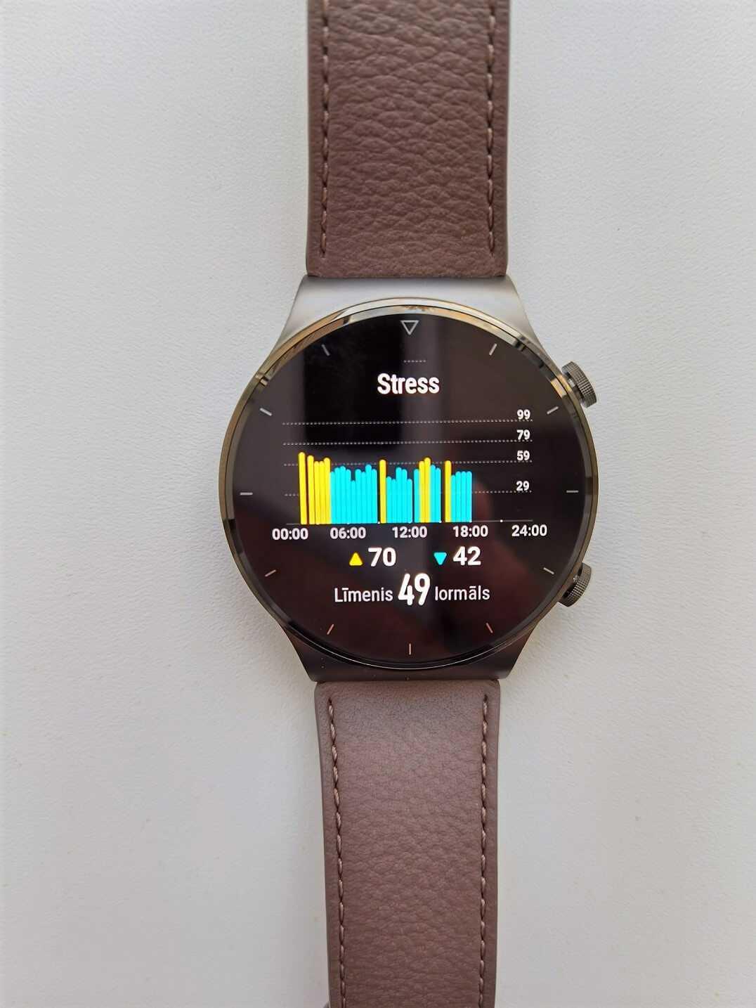Huawei Watch GT 2 Pro stresa limenis