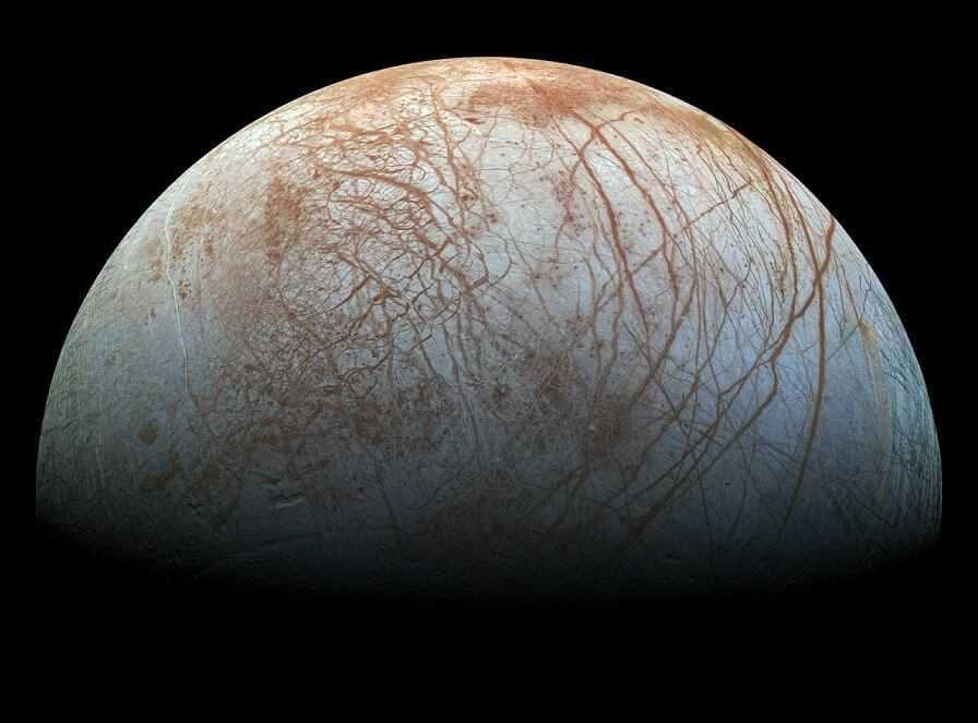 Jupitera pavadonis Eiropa