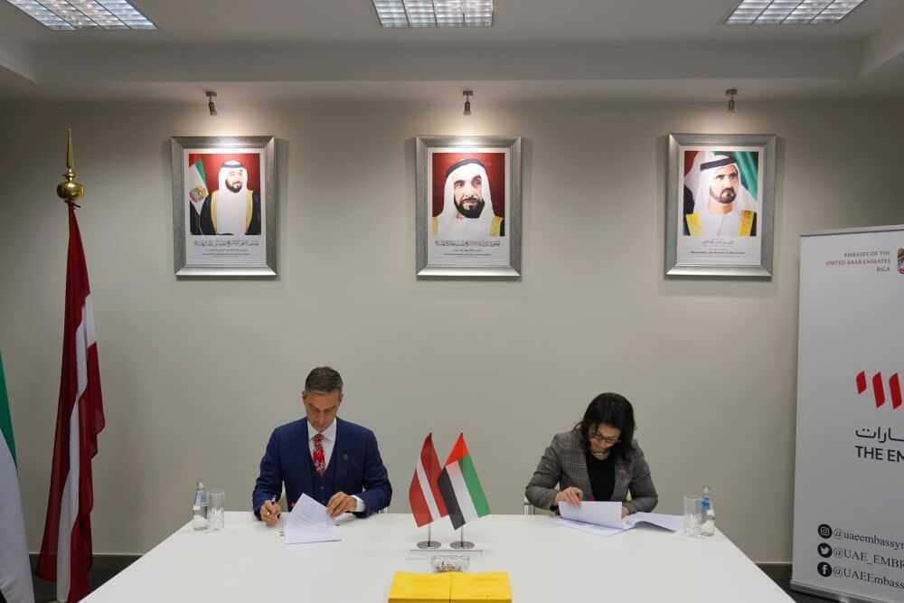 """Parakstīts Latvijas dalības """"EXPO 2020"""" Dubai paviljona īres līgums"""