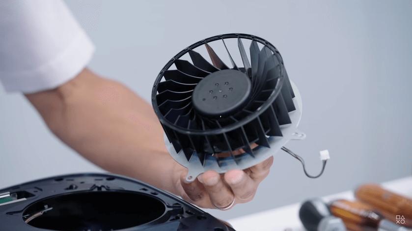 PlayStation 5 dzesēšanas ventilators