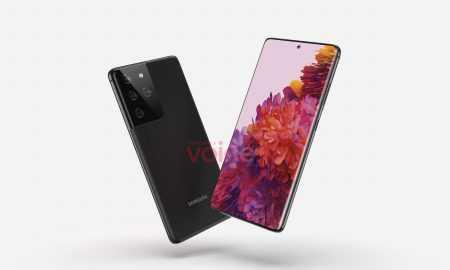 Viedtālruņa Samsung Galaxy S21 Ultra dizains