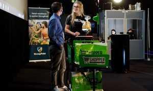 Latvijas mazumtirgotājiem tiek piedāvāti viedie iepirkumu ratiņi