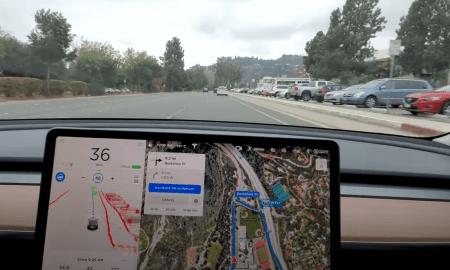 Teslas autopilots darbībā