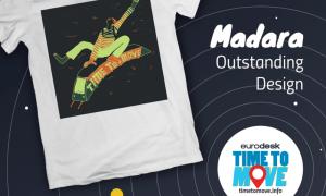 """Jauniešus aicina radīt Eiropas kampaņas """"Time to Move"""" T-kreklu dizainu"""