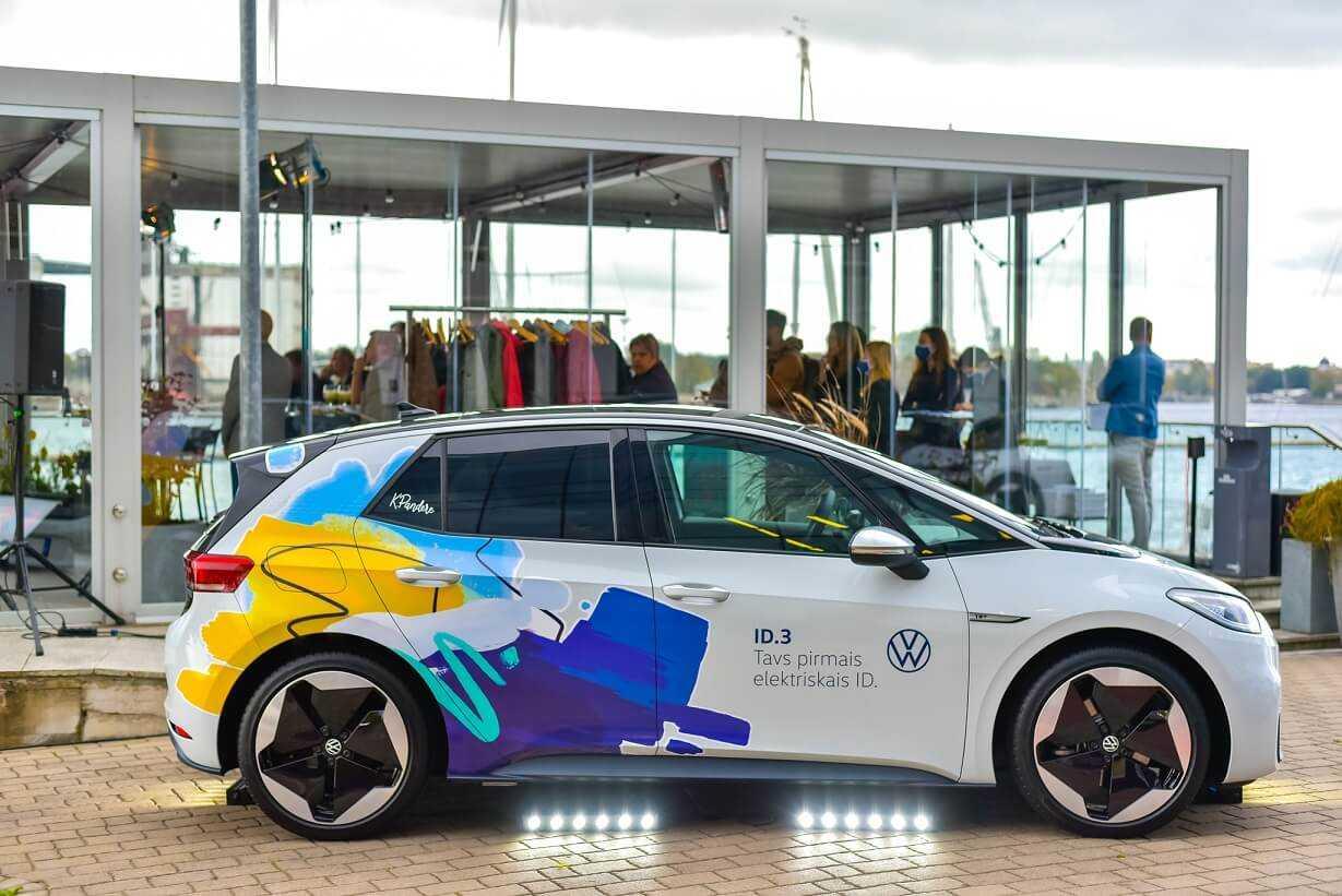 VW ID3 Latvijā