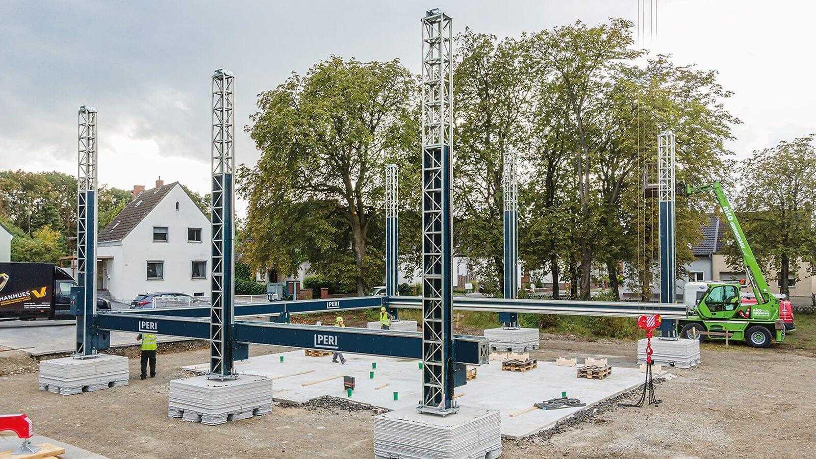būvē Vācijā pirmo 3D printējamo dzīvojamo māju