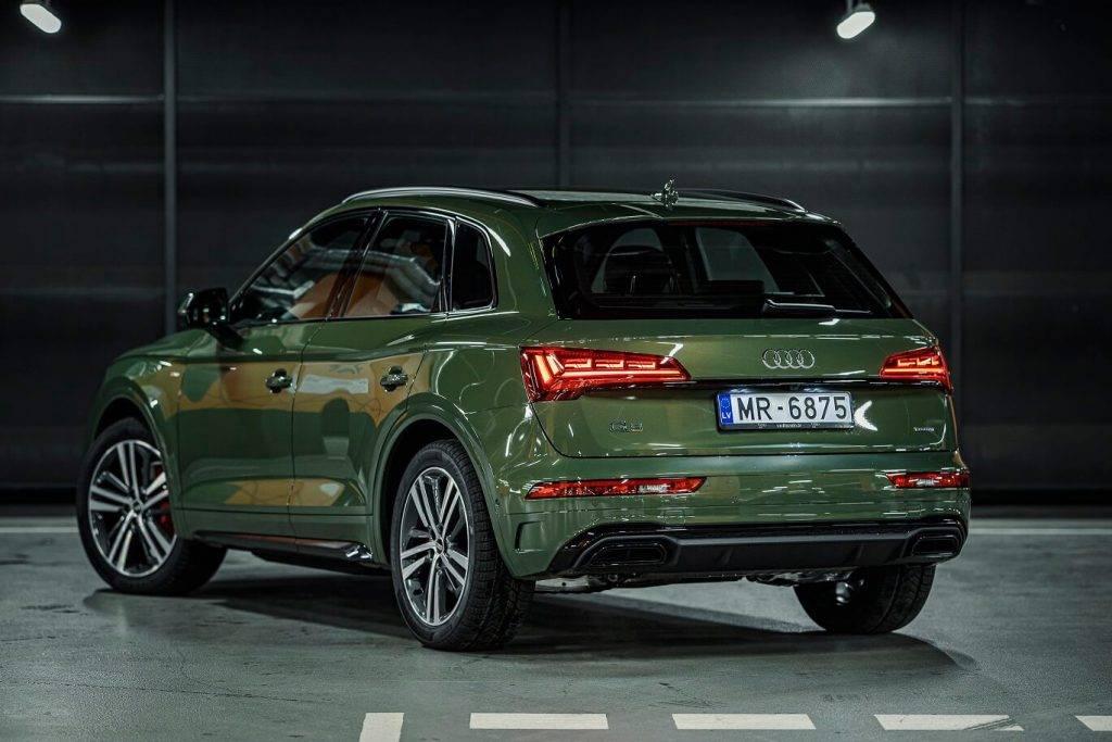 Atjaunotais Audi Q5 Latvija 4