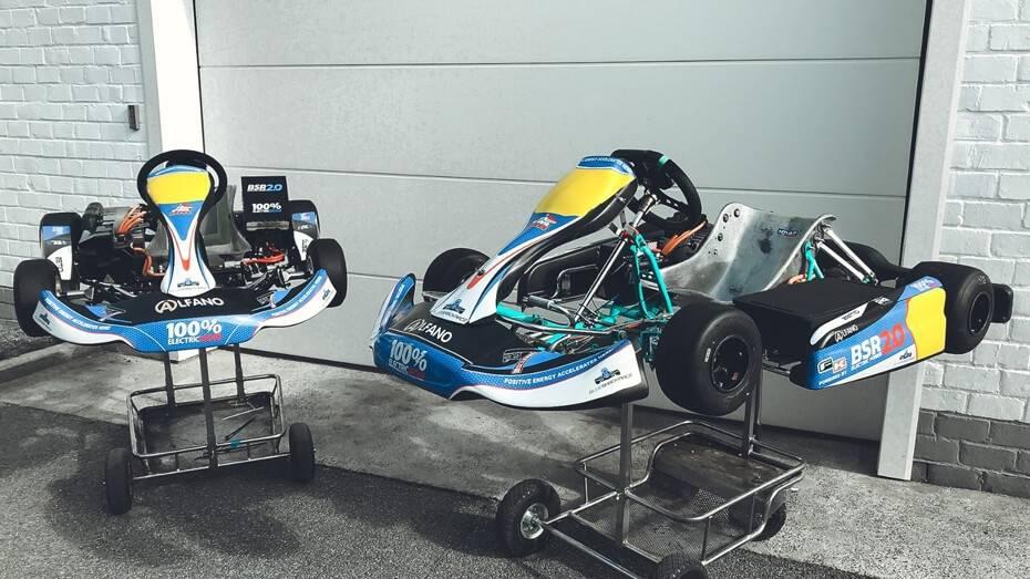 """""""Blue Shock Race"""" elektrokartings ierindots pirmajā vietā pasaules reitingā"""