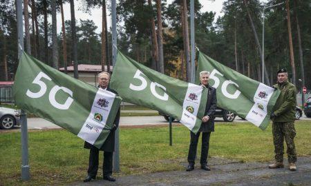 Ādažu bāzē atklāj Eiropā pirmo aizsardzības inovāciju 5G testa vidi
