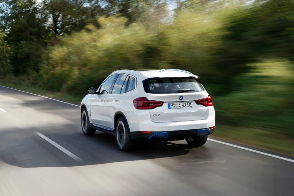 Jaunākais BMW iX3 elektromobilis