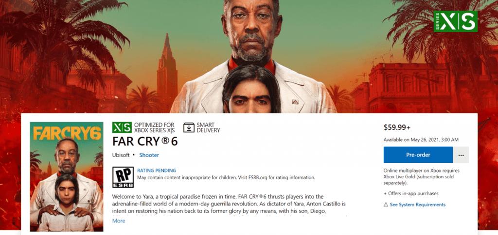 Far Cry 6 iznākšanas datums un cena