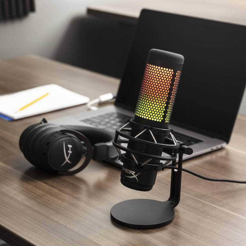 HyperX QuadCast S USB dinamiskais mikrofons