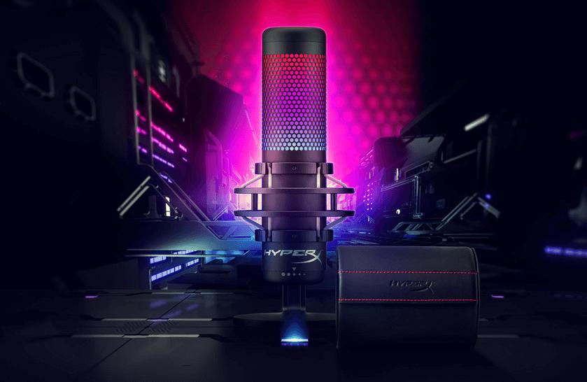 HyperX QuadCast S mikrofons ar USB