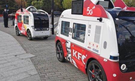 Bezkontakta KFC Kina