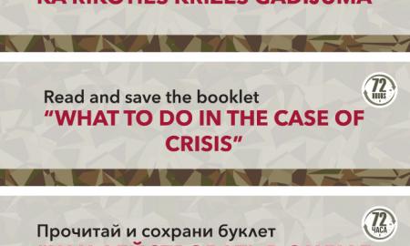 """Par rīcības bukleta """"Kā rīkoties krīzes gadījumā"""" vēstnešiem kļuvuši """"LMT"""", """"Virši"""" un """"220.lv"""""""