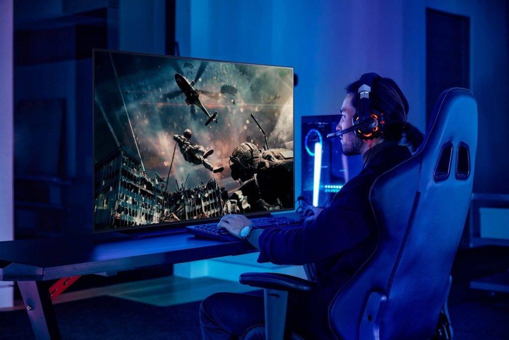LG 48 collu OLED televizors - ideāls gan skatīšanās priekam, gan videospēļu baudīšanai.