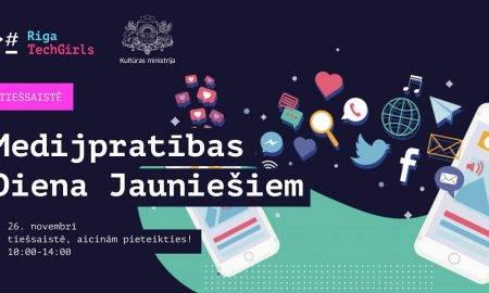 Tiešsaistē notiks medijpratības diena jauniešiem