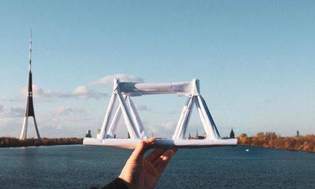 RTU noteiks izturīgāko un skaistāko papīra tiltu