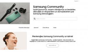 Samsung radījis digitālu pašapkalpošanās atbalsta centru tehnoloģiju faniem – Samsung Community