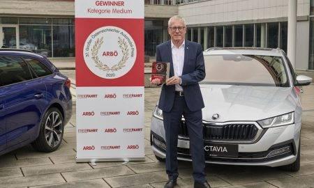 Jaunā Škoda Octavia iegūst prestižu Austrijas auto nozares apbalvojumu