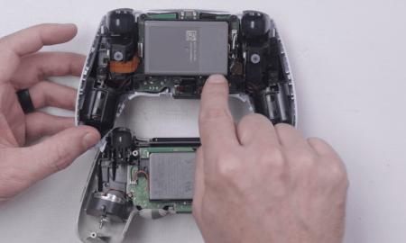 Sony Playstation 5 kontroliera DualSense izjauksana