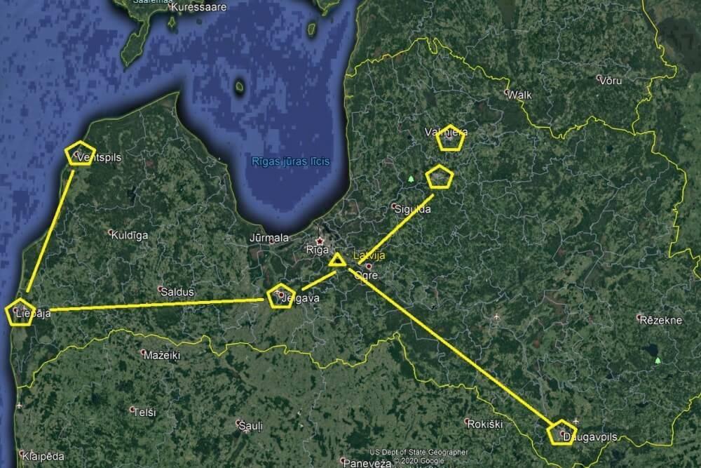 Valsts svētkos Latvijas un sabiedroto bruņoto spēku gaisa kuģi veic pārlidojumus virs Latvijas pilsētām