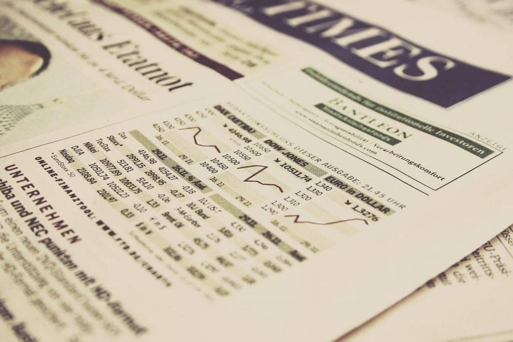 Dow Jones un kriptovalutas