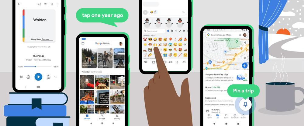 Jaunumi no Google 2021