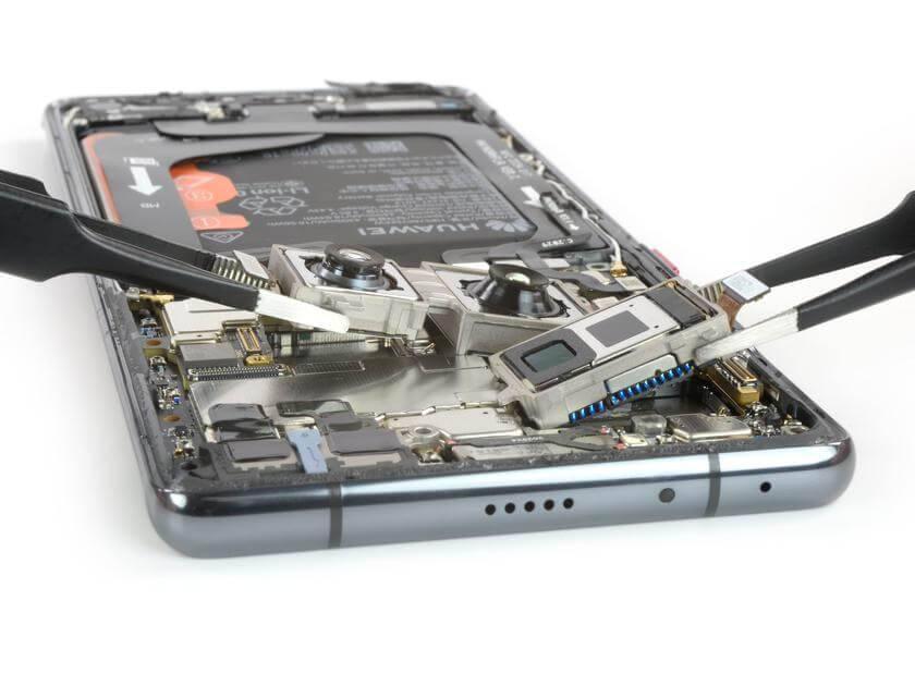 Huawei Mate 40 Pro remonta iespējas